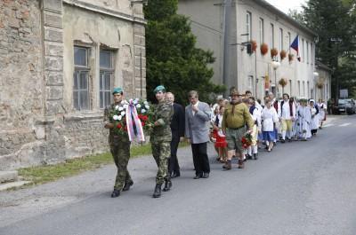 Fotografie z oslav 620 let Obecnice