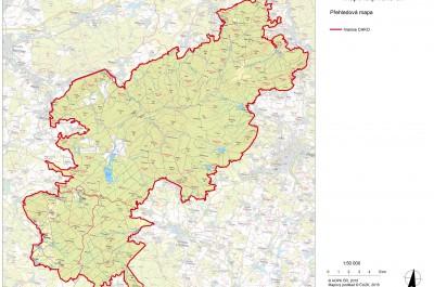 Chráněná karajinná oblast Brdy – Plán péče o CHKO Brdy