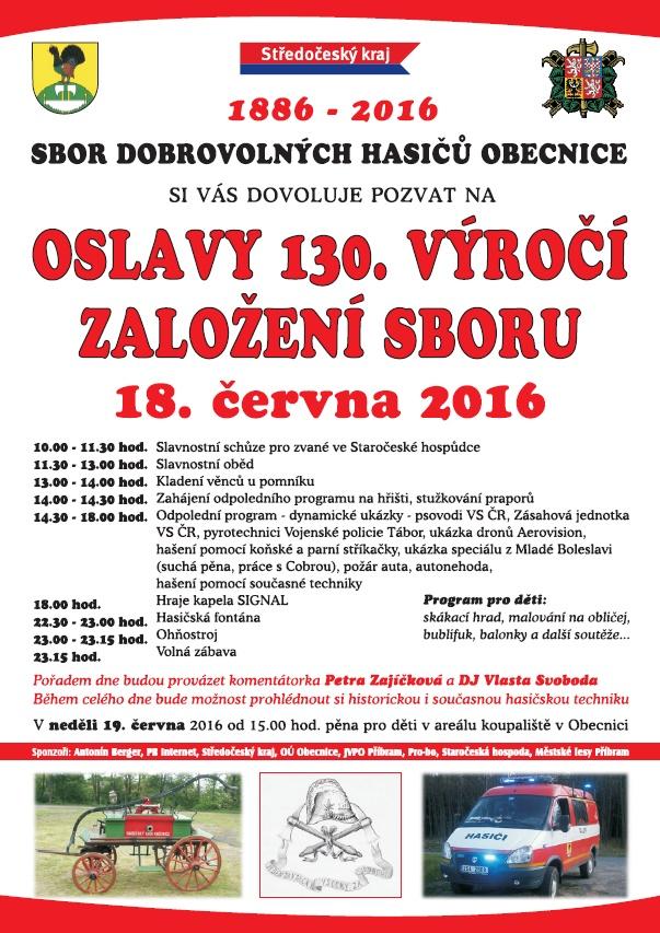 Oslavy 130 let SDH