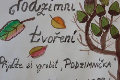 Podzimní tvoření – Podzimníček