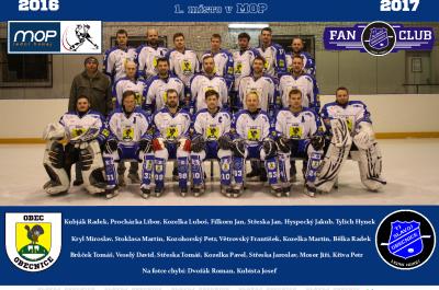 Hokej Slavoj Obecnice – MISTR MOP 2016/17