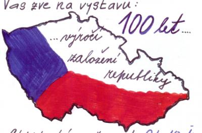 Výstava 100 let výročí založení republiky
