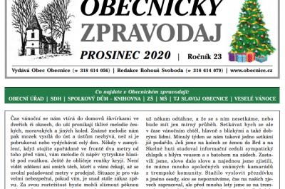 Zpravodaj Prosinec 2020