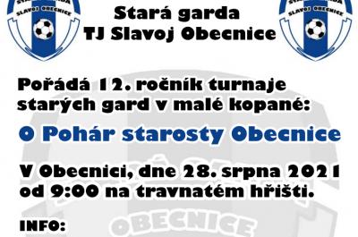 12. ročník turnaje starých gard: O Pohár starosty Obecnice